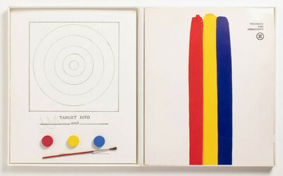Jasper Johns, 'Jasper Johns Target (Jasper Johns Target Technics and Creativity MoMa 1971)', 1971