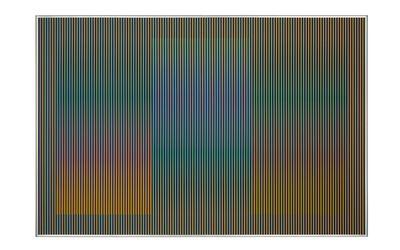 Carlos Cruz-Diez, 'Physichromie 1986, Paris', 2014