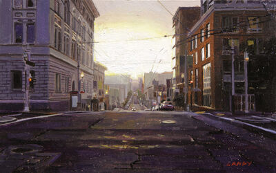 Greg Gandy, 'Sunrise on Post and Van Ness', 2014