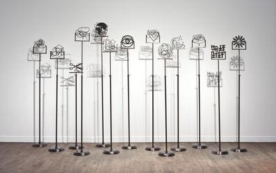 Michel Goulet, 'Signe/Signal', 2012