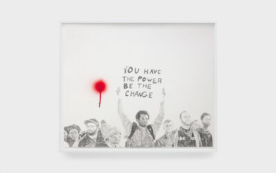 Sam Durant, 'You Have the Power (Index)', 2018