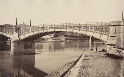 Édouard Baldus, 'Lyon, Viaduc du Rhone', 1861c/1861c