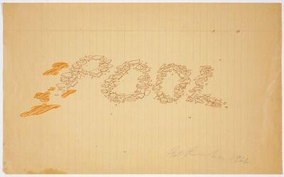 Ed Ruscha, 'Pool of Broken Glass', 1966