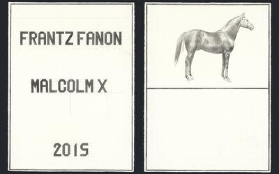 Sawangwongse Yawnghwe, 'Frantz Fanon Malcolm X 2015', 2015