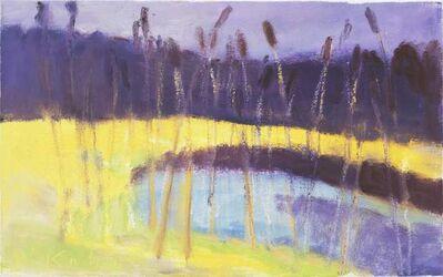 Wolf Kahn, 'Cattails II', 2003