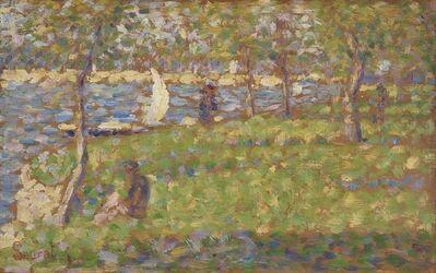 """Georges Seurat, 'Study for """"La Grande Jatte"""" ', 1884"""