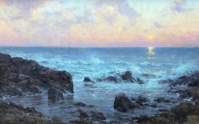 Michael J. Lynch, 'Pacific Surf at Twilight', 2020