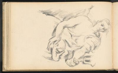 """Paul Cézanne, 'Study of an Angel in Rubens' """"The Prophet Elijah""""', 1892/1895"""