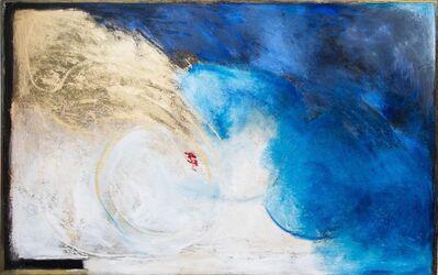 Sarah Bachrodt, 'Blue Gold series # 8', 2018