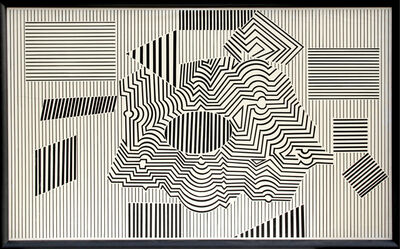 Victor Vasarely, 'Operenccia', 1954-1986
