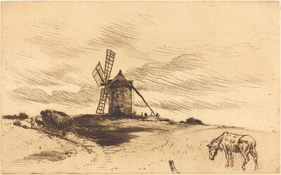 Norbert Goeneutte, 'The Mill at Saint Jacut (Le moulin de Saint Jacut)'