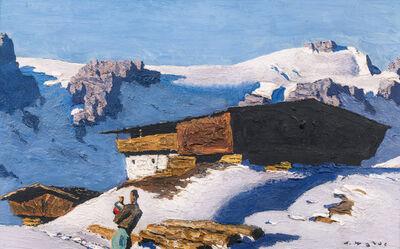 Alfons Walde, 'Lonely Farm', 1934