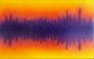 """James Hilleary, 'Hilleary No. 289, Reflections Series """"Reflection IV"""" (Lavender Rose)', 1991"""