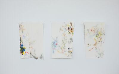 Mauro Piva, 'Autorretrato como papéis toalha sujos de tinta I ', 2017