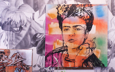 David Bromley, 'Frida in Situ', 2018