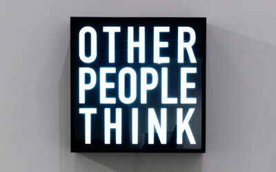 Alfredo Jaar, 'Other People Think', 2012