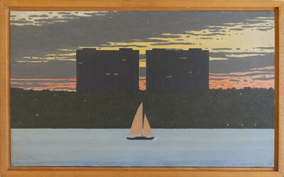 Bill Sullivan, 'Study for Cole Porter Paintings', 1981