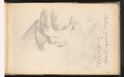 Paul Cézanne, 'Woman Leaning Forward', 1888/1891