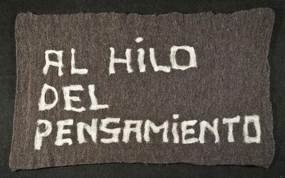 Nury González, 'Al hilo del pensamiento', 2012