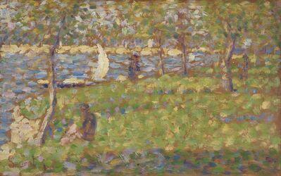 """Georges Seurat, 'Study for """"La Grande Jatte""""', 1884/1885"""