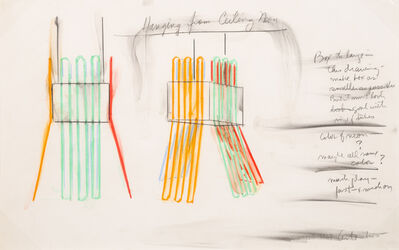 Stephen Antonakos, 'Untitled (Study for Hanging from Ceiling Neon)', 1967