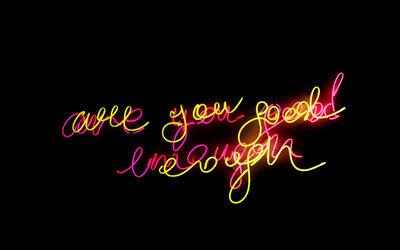 :mentalKLINIK, 'Are you good enough', 2019