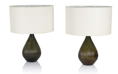 Just Andersen, 'Pair of lamps', circa 1930