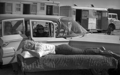 Eve Arnold, 'Resting on the set of The Misfits, 1960', 2013