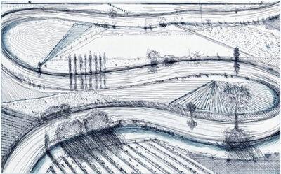 Wayne Thiebaud, 'River Turns', 1995