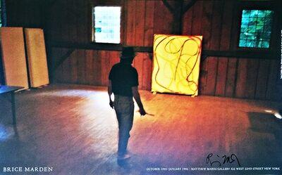 "Brice Marden, 'Nan Golden's ""Brice Marden's Studio"" 1995 (Hand Signed)', 2015"