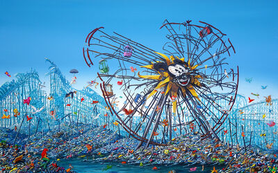 Jeff Gillette, 'Split Mickey Ferris Wheel', 2017