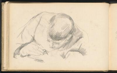 Paul Cézanne, 'The Artist's Son Writing', ca. 1887