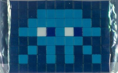 Invader, 'Invasion Kit #11: Blue', 2009