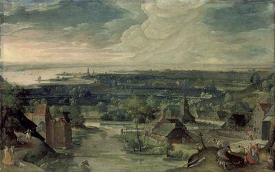 Hans Bol, 'River Landscape', 1578