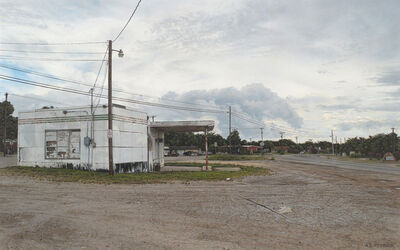 Rod Penner, 'Deserted Station / Stephenville, TX', 2011