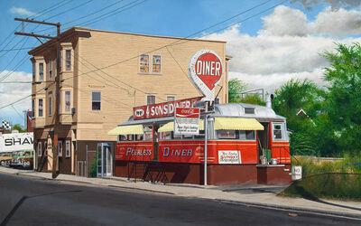 John Baeder, 'Peerless Diner', 2007