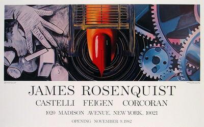 James Rosenquist, 'While the Earth Revolved at Night', 1982