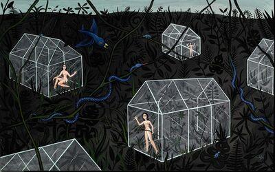 Anne Faith Nicholls, 'Glass Houses (Left)', 2016