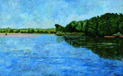 Pedro Diego Alvarado-Rivera, 'Vista del Rio Loira, Francia. (Loire River View, France)  ', 1998