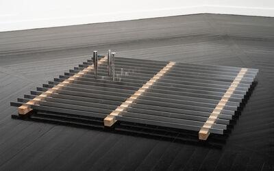 Lea Porsager, 'PAULI'S DREAM BED  [Miniature Neutrino Horns on Hotbed]', 2019