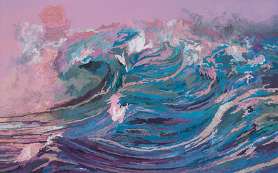 Matthew Cusick, 'Rose Wave', 2017