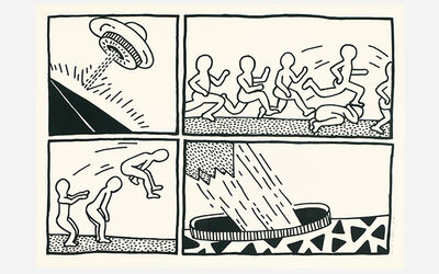 Keith Haring, 'Untitled, from The Blueprint Drawings', 1990