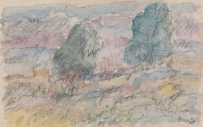 Pierre Bonnard, 'Paysage de Vernon', Circa 1920