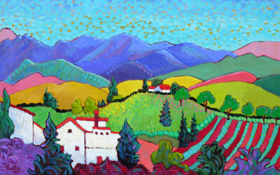 """Claudia Hartley, '""""Tranquility Hill""""'"""