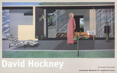 David Hockney, 'Beverly Hills Housewife', 2001