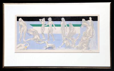 Jacques Villon, 'Le Mort de Daphnis for Les Bucoliques', ca. 1960