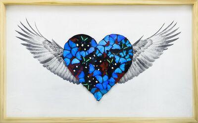 SN, 'Heart with Wings True Love ', 2019