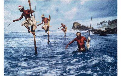 Steve McCurry, 'Fishermen at Welligama', 2014