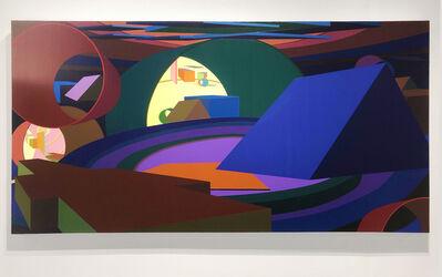 Al Held, 'Fathom Mark XIX', 1989