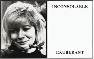 John Baldessari, 'Prima Facie (Third State) : Inconsolable / Exuberant', 2005